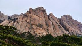 Grandi rocce Fotografia Stock