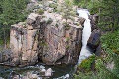 Grandi rocce della montagna del corno Fotografia Stock