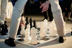 Grandi scacchi Immagini Stock
