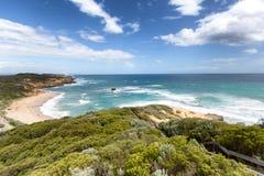 Grandi scala della strada dell'oceano da tirare fotografie stock libere da diritti