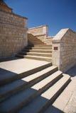 Grandi scale di pietra Fotografia Stock