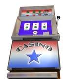 Grandi slot machine Fotografia Stock Libera da Diritti