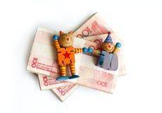 Grandi soci nell'investimento! Immagini Stock Libere da Diritti