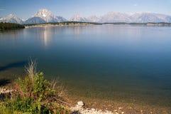 Grandi sosta, montagne e laghi di Teton fotografia stock libera da diritti