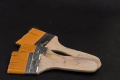 Grandi spazzole Fotografia Stock