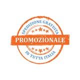 Grandi vendite, trasporto libero nel bollo dell'Italia per la stampa Fotografie Stock