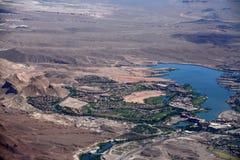 Grandi viste dalle terre del Nevada Fotografie Stock