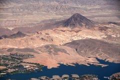 Grandi viste dalle terre del Nevada Immagini Stock