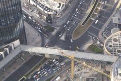 Grandiose construction in Dubai, the United Arab Emirates.  Royalty Free Stock Images