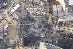 Grandiose construction in Dubai, the United Arab Emirates.  Stock Photo