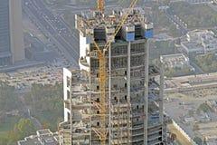 Grandiose construction in Dubai, the United Arab Emirates.  Stock Image