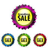 Grandiose SALE Stock Images