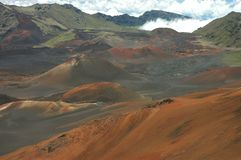 Grandiosidade de Haleakala Fotografia de Stock Royalty Free