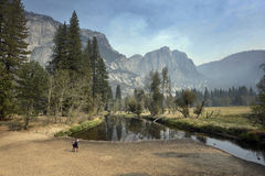 Grandiosidade de Yosemite Fotos de Stock Royalty Free