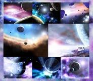 Grandiosità dell'universo Immagini Stock