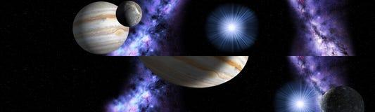 Grandiosità dell'universo Fotografia Stock Libera da Diritti
