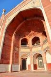 Grandiosità della tomba di Humayun storico del monumento a Nuova Delhi - immagine fotografie stock libere da diritti