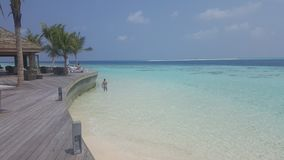 The grandiosity of Maldives stock photo