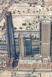 Grandioze bouw in Duba Royalty-vrije Stock Afbeeldingen