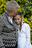Grandma και κορίτσι Στοκ Φωτογραφίες