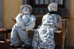 Grandma και grandad Στοκ εικόνες με δικαίωμα ελεύθερης χρήσης