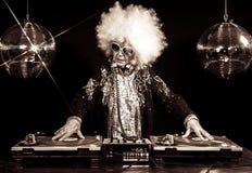 Grandma του DJ στοκ εικόνες