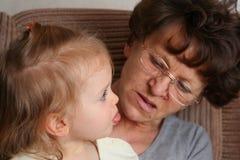 Grandma Royalty Free Stock Photos