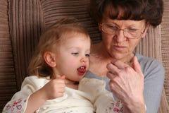 Grandma Royalty Free Stock Image