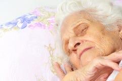grandma Imagen de archivo libre de regalías