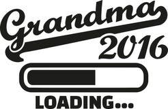 Grandma 2016 Loading. Bar vector Royalty Free Stock Images