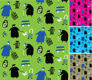 Grandma pattern Royalty Free Stock Photos