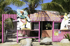 Grandma's Kitchen Restaurant - Virgin Gorda, BVI Stock Photos