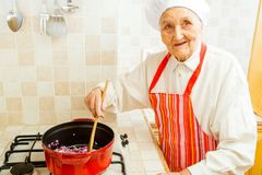 Grandma's recipe Royalty Free Stock Photo