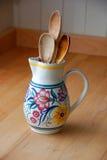 Grandma\'s spoons Stock Photography