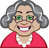 Grandma vector Stock Images