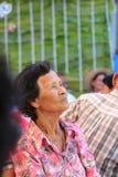 Grandma& x27;s waiting. Stock Image