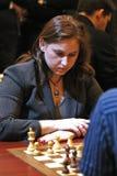 Grandmaster húngaro del ajedrez, Judit Polgar foto de archivo libre de regalías