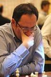 Grandmaster israelí del ajedrez, Boris Gelfand Imágenes de archivo libres de regalías
