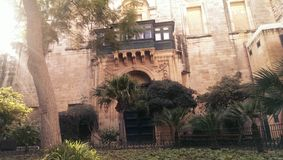 Grandmaster pałac w Valletta fotografia royalty free
