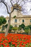 Grandmaster ` s pałac ogród, Malta obraz royalty free