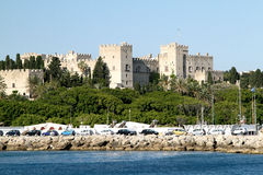Grandmaster's Palace in Rhodes royalty free stock images