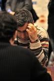 Grandmaster ucraniano da xadrez, Vasyliy Ivanchuk Foto de Stock Royalty Free
