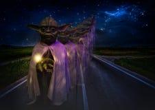 Grandmaster Yoda in the waxworks museum in Foz do Iguazu / Brazil.