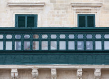 Grandmasters' Palace Balcony Royalty Free Stock Photography