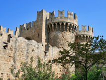 Grandmasters Palace, Rhodes Royalty Free Stock Images