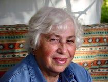 Grandmother. Smiling woman stock image
