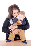Grandmother with baby Royalty Free Stock Photography