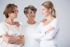 Grandmother bring togeter family Stock Photography