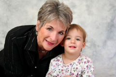 Grandmother and Child Stock Photography