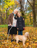 Grandmother and child Royalty Free Stock Image